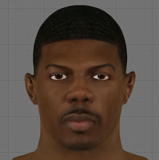 NBA 2K13 Joe Johnson HD Cyber Face Patch
