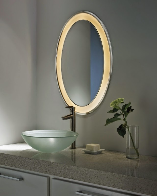 bathroom mirrors with LED lights,modern bathroom mirror lights