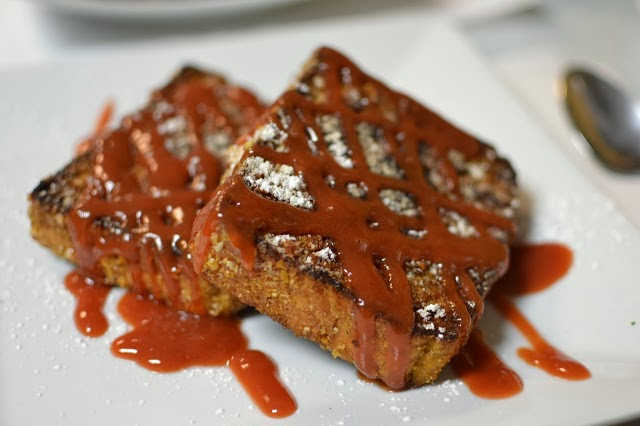 Omar's Stuffed French Toast at La Isla Restaurant in Hoboken
