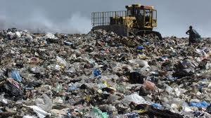 Сметище депо отпадъци боклук Баня