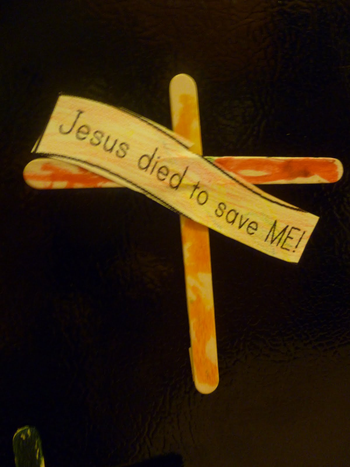 LAST MINUTE EASTER GIFT KIDS CAN MAKE JESUS DIED TO SAVE