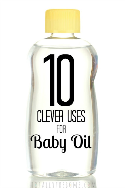 10 Clever Uses for Baby Oil