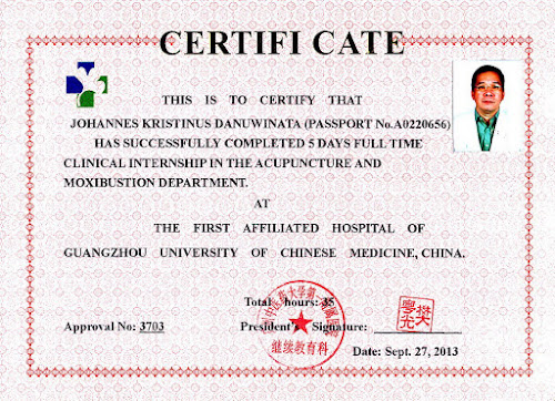 Sertifikat Guang Zhou