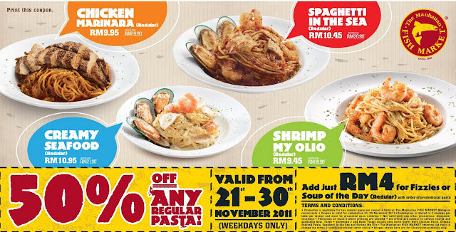 I Love Freebies Malaysia: Promotions > The Manhattan Fish ...