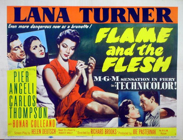 Flame and the Flesh (1954)