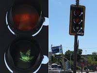 Prefeitura diz que vai trocar semáforo com 'sinal da maconha' em Fortaleza.