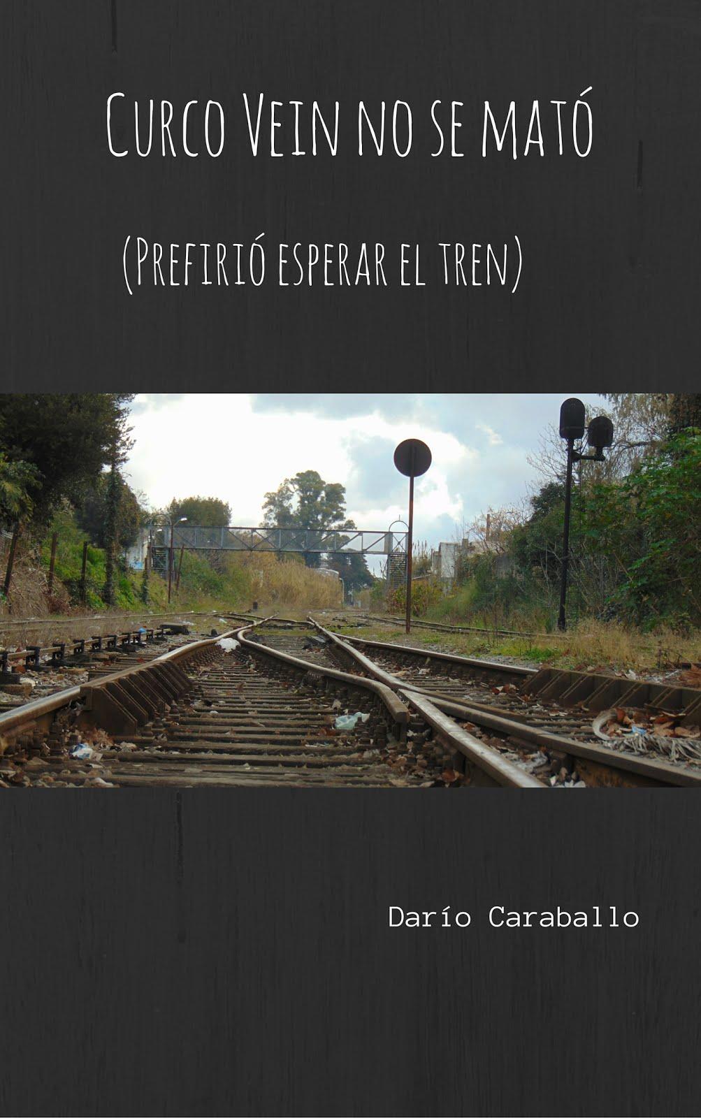 Este es mi tercer libro. Es una novela corta y se llama como dice ahí abajo, en la tapa.