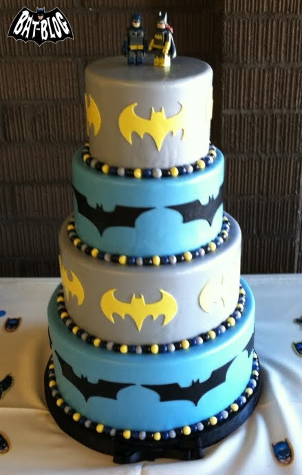 CRAZY COOL BATMAN CAKES - Wedding AND Birthday!!