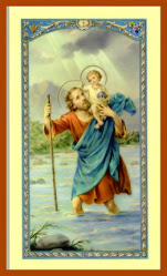 Saint Christopher ~ Patron Saint