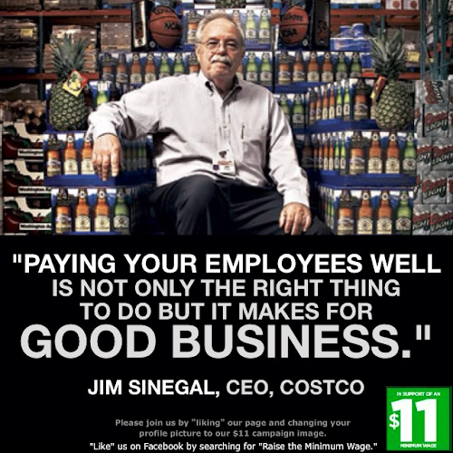 "costco jim sinegal is an effective ceo Costco knows how to treat people — adapted from ""jim sinegal: costco ceo focuses on employees,"" amanda 10 secrets to an effective performance review."