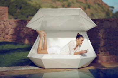 Outdoor Daybed with Modern Style for Relax 3