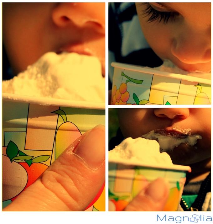 baby ice-cream