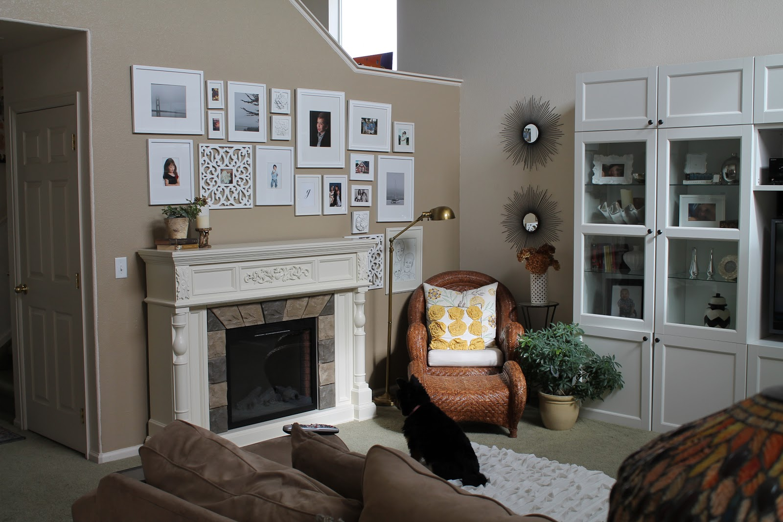 On prairie hill: Our new electric fireplace from.....Big lots?