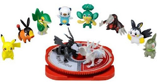 Pokemon TomyMC figure BW 10pcs set 2 Tomy