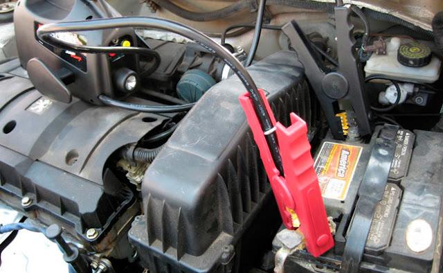 La batería del auto