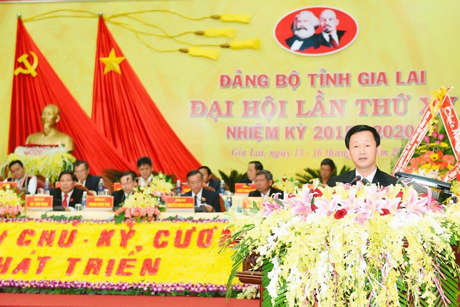 Gia Lai: Đồng chí Dương Văn Trang được bầu giữ chức Bí thư Tỉnh ủy khóa XV, nhiệm kỳ 2015-2020