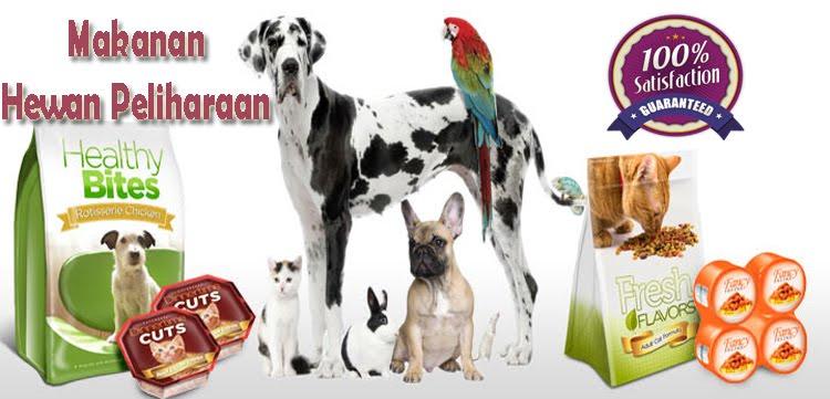 Jual Makanan Hewan Peliharaan Kucing Anjing