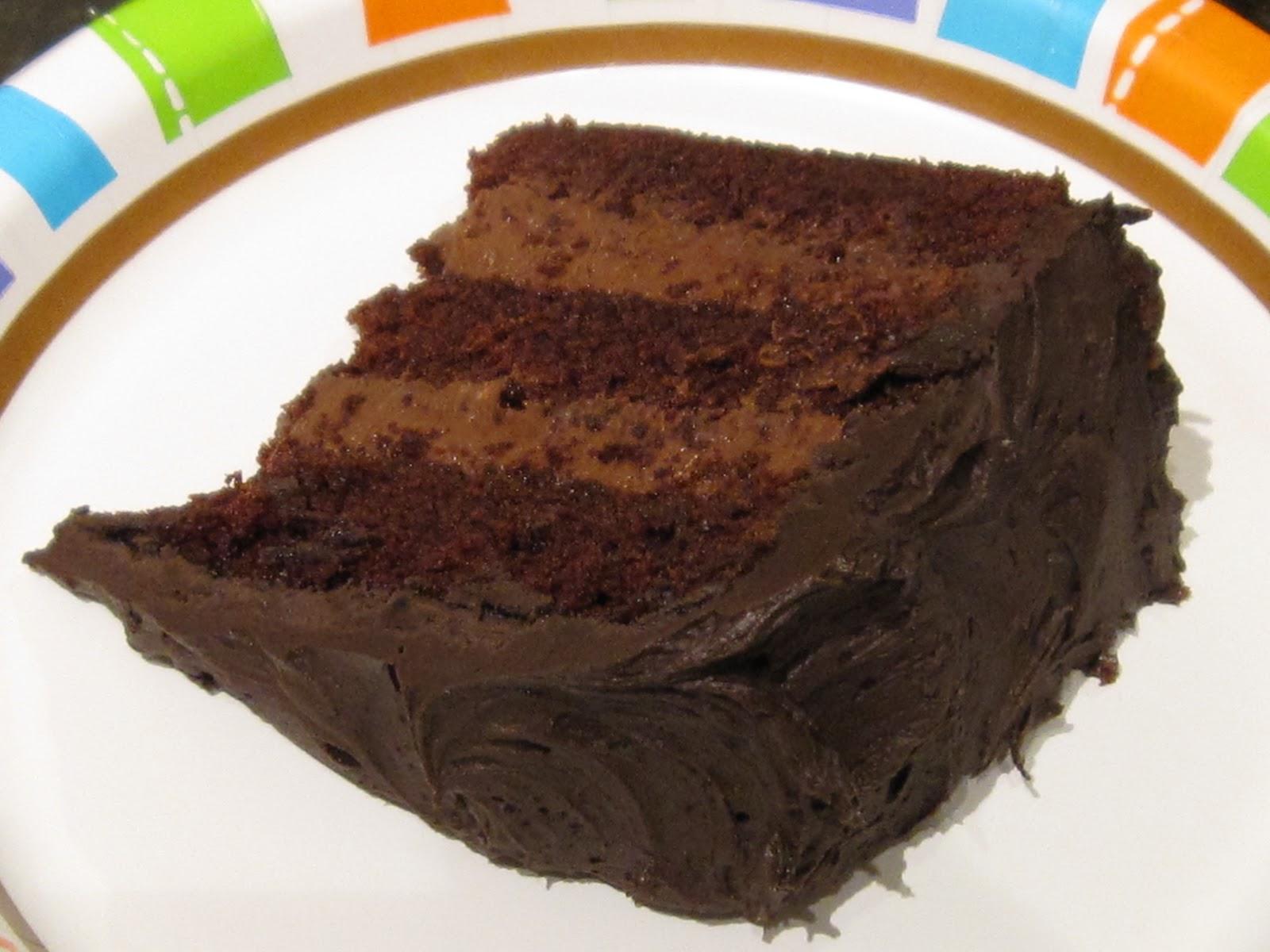 Hannah In The Kitchen Triple Chocolate Birthday Cake