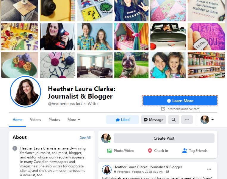 Facebook.com/HeatherLauraClarke