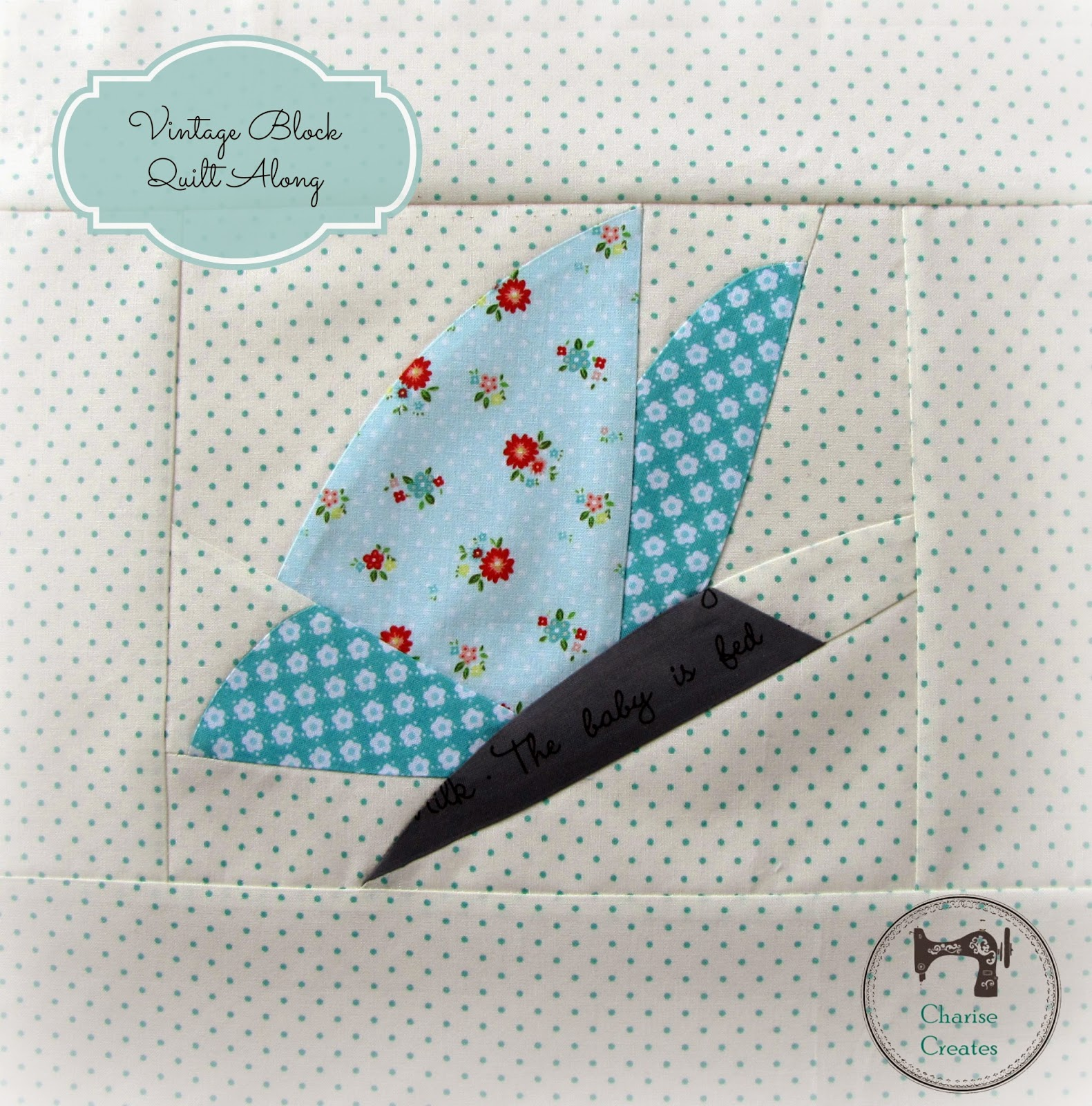 Charise Creates: Vintage Block Quilt Along ~ Spring Butterfly ...