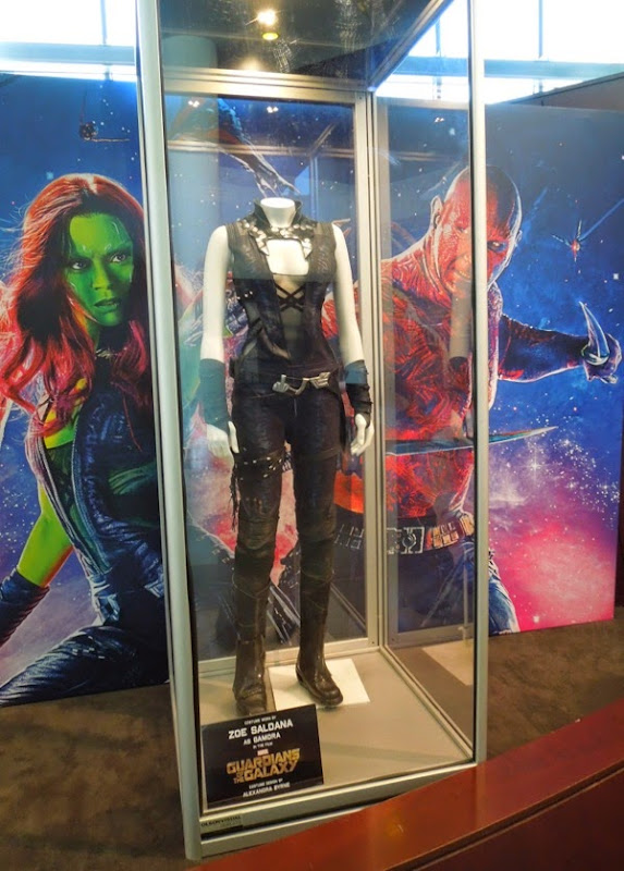 Original Gamora Guardians of the Galaxy movie costume