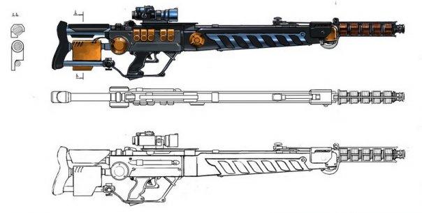 Схема гаусс пушки своими руками