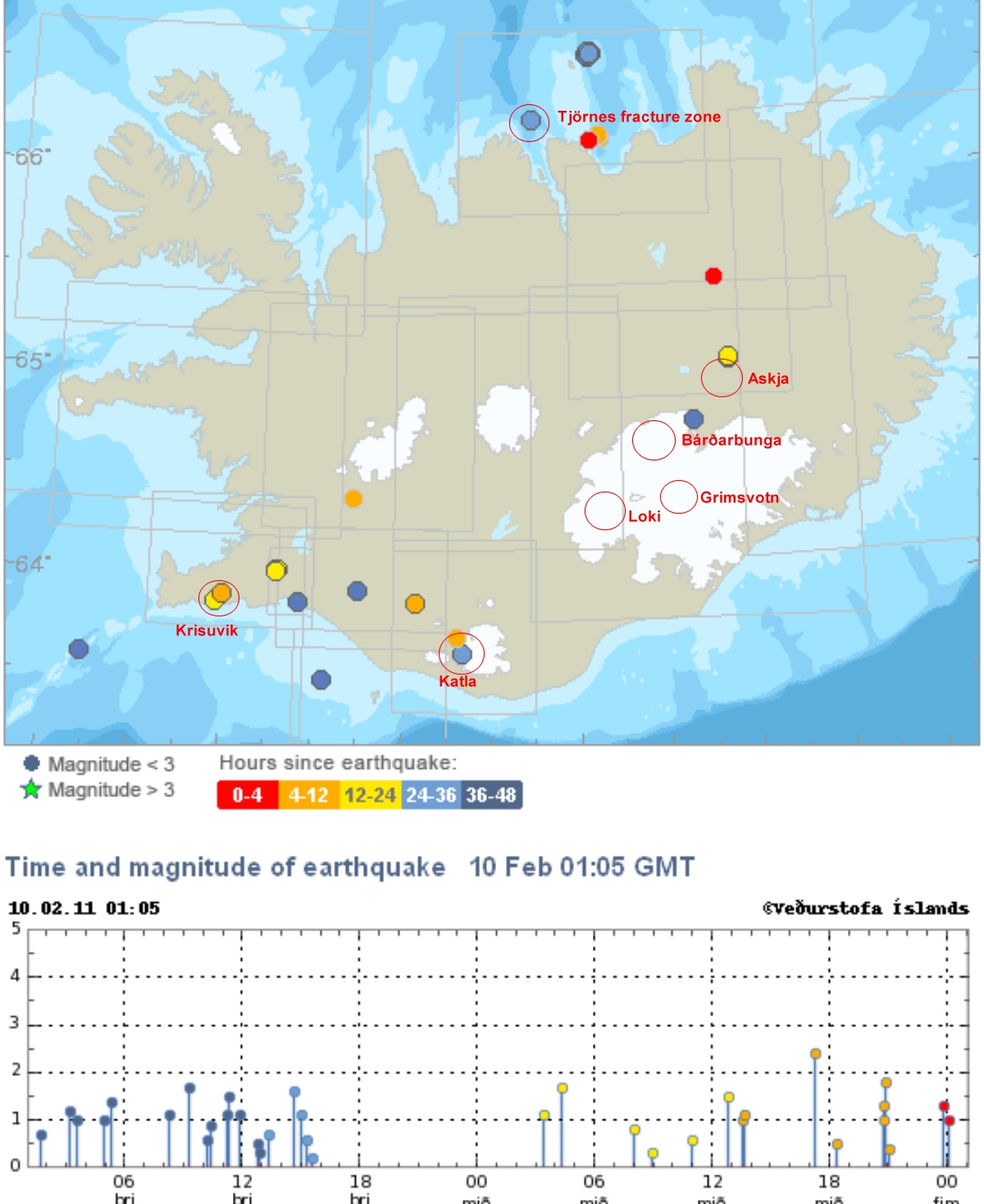 earthquakes today map - photo #47