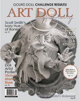 Three of My Dolls Published in Autumn 2011 Edition of Art Doll Quarterly