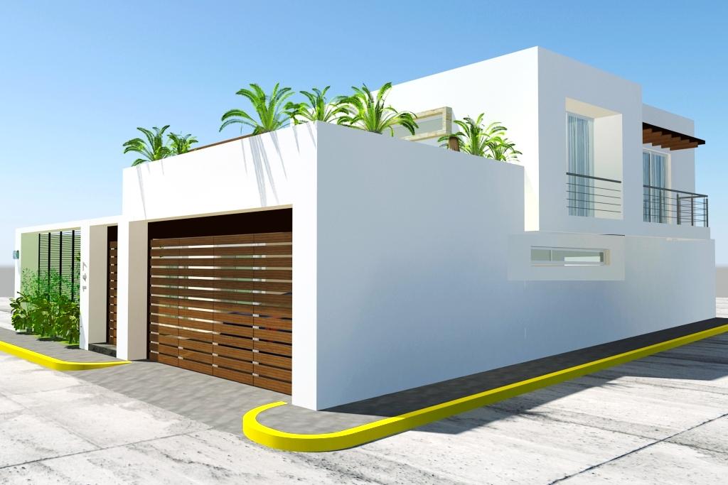 Dudas design for Render casa minimalista