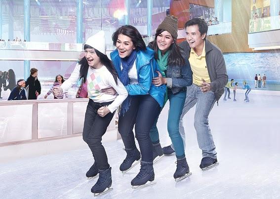 Arena Ice Skating Bintaro Xchange Mall di Jakarta