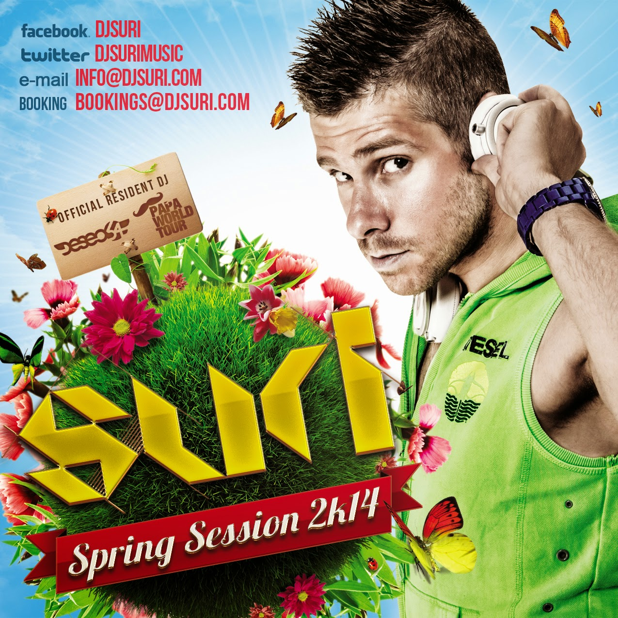 DJ Suri - SPRING SESSION 2k14