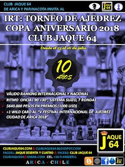IRT COPA ANIVERSARIO CLUB JAQUE 64