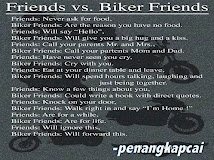 Bikers + Friends