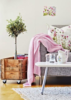 artistic floral print cushions and picture