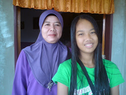 my mum n sis..