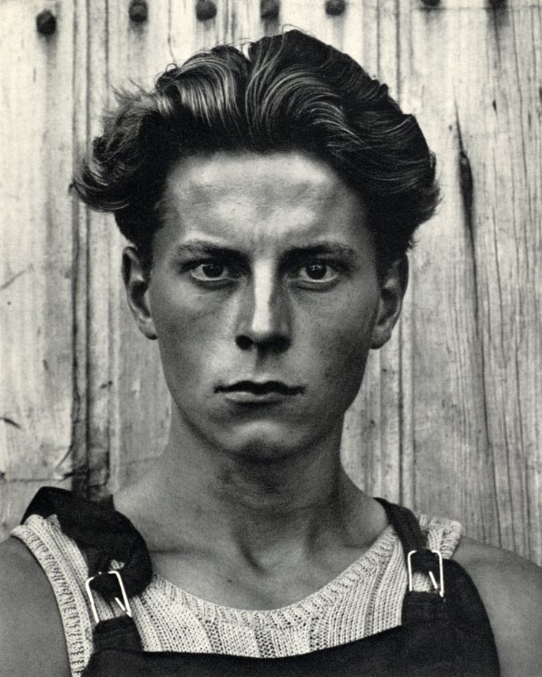 Paul Strand Young Boy Gondeville Charente France