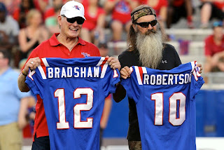 Phil Robertson at Louisiana Tech - Breaking News English