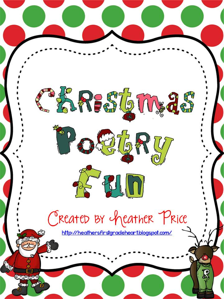 christmas poetry fun freebies - Christmas Poetry