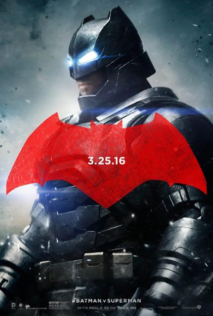 Pósters de personajes de 'Batman v Superman: El Amanecer de la Justicia'