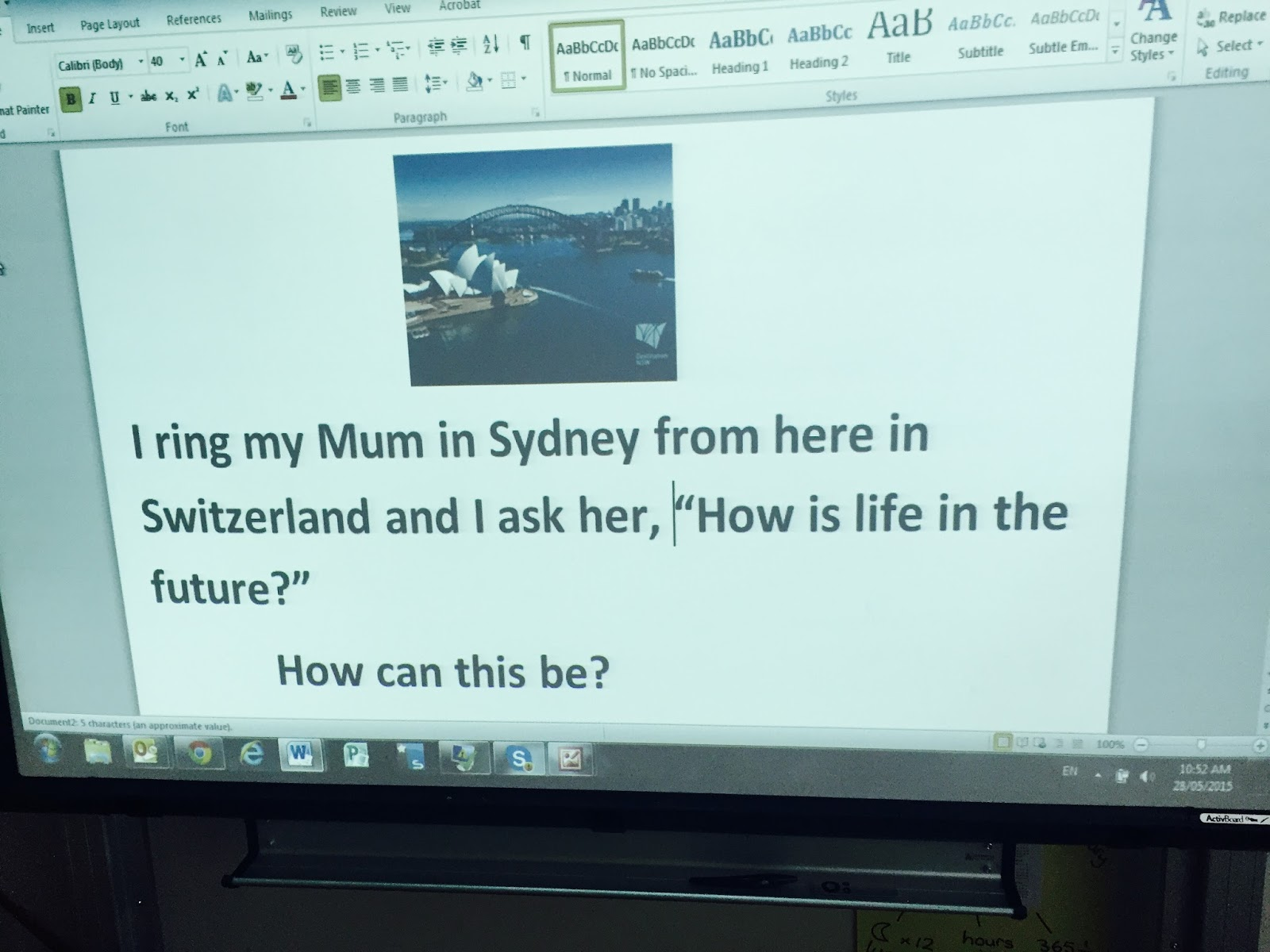 Enquiry-Based Maths: Enquiry into World Time Zones