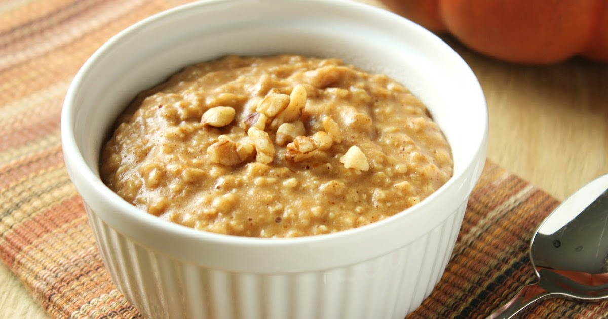 Delicious as it Looks: Quick Pumpkin Oatmeal