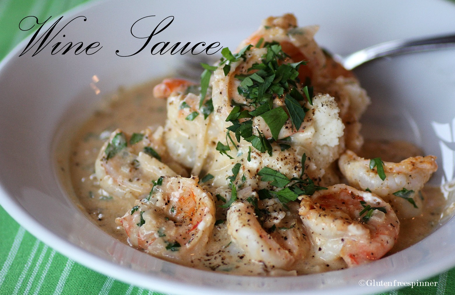 Creamy Chardonnay Shrimp Recipe — Dishmaps