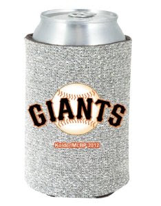 San Francisco Giants MLB Glitter Koozie