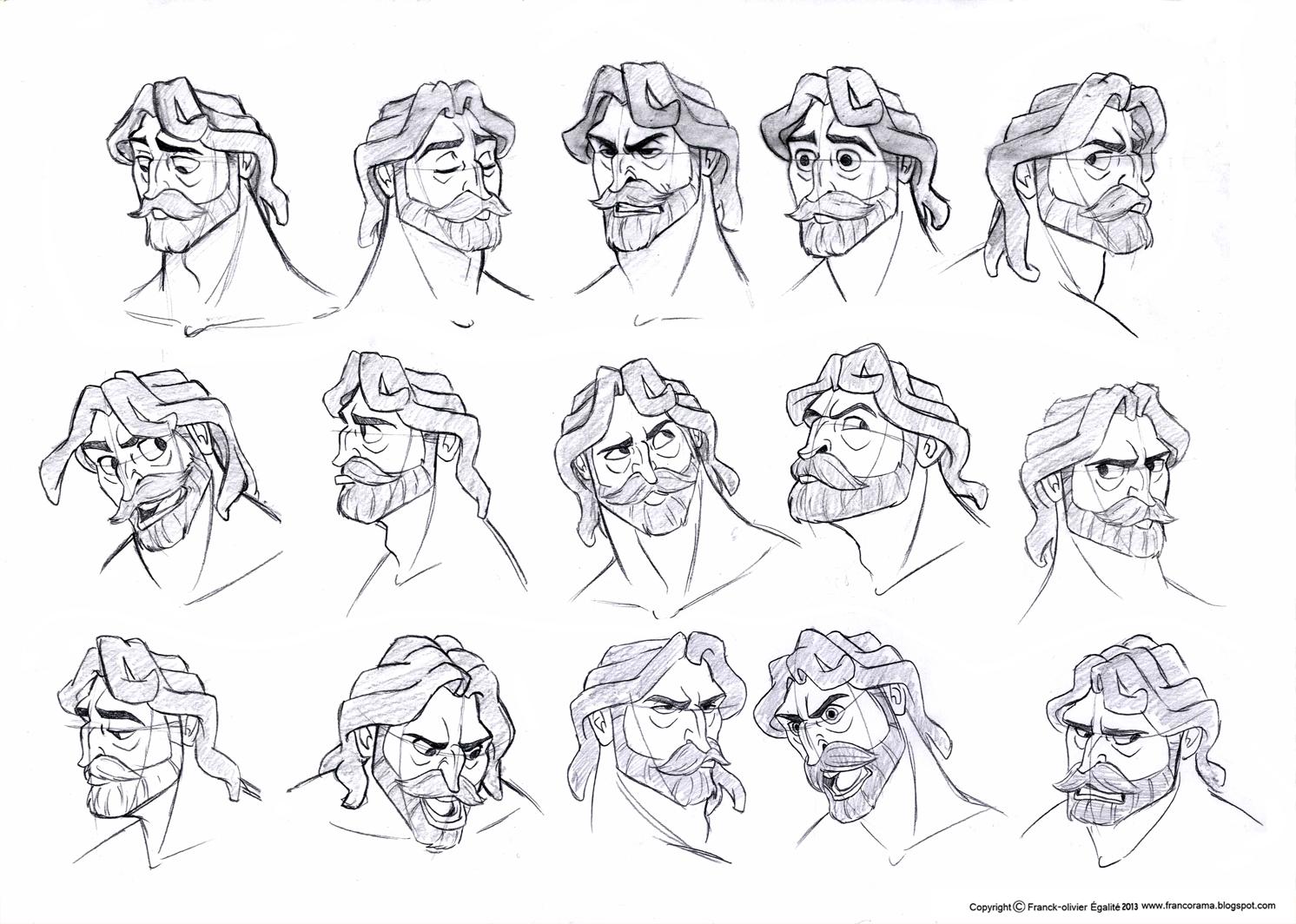 Character Design Disney Pdf : Franco s character design assignment tree tarzan
