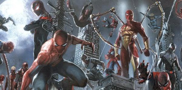 Spider Verse. Varios Spiderman