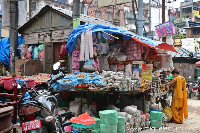 Mercado-local-Katmandu