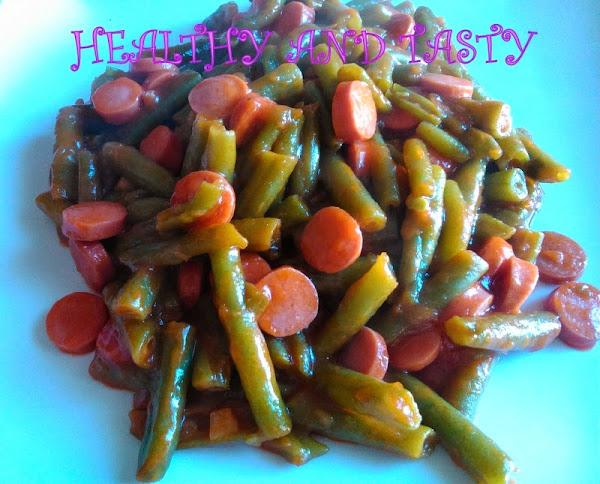 Recetas con salchichas frescas cocinar en casa es - Como cocinar judias verdes frescas ...