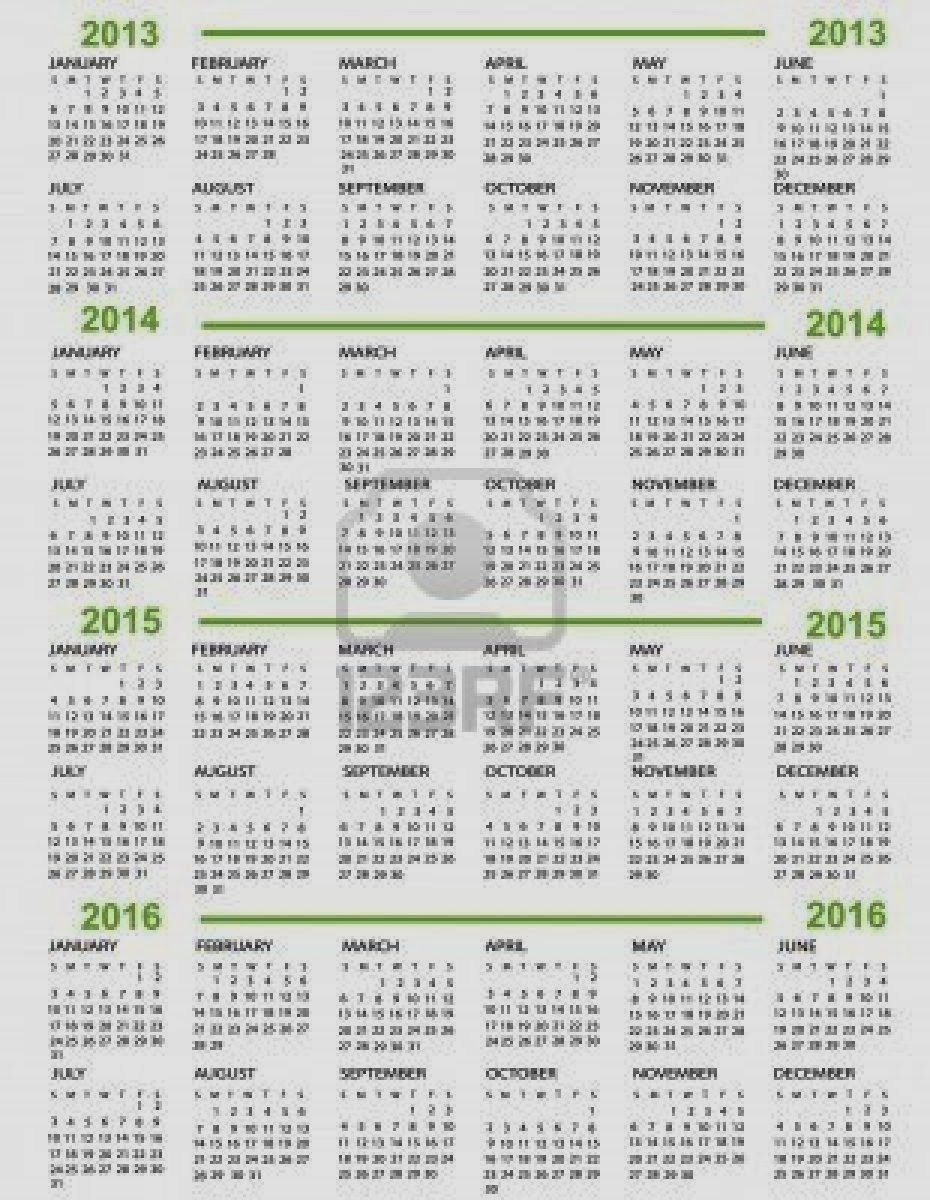 10 Year Calendar New Calendar Template Site