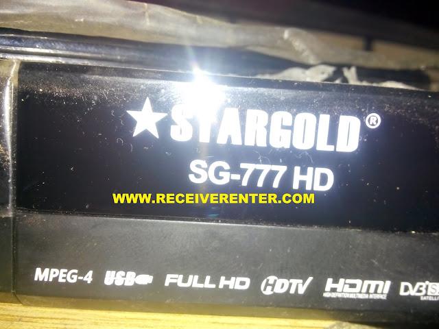 STARGOLD SG-777 HD RECEIVER BISS KEY OPTION