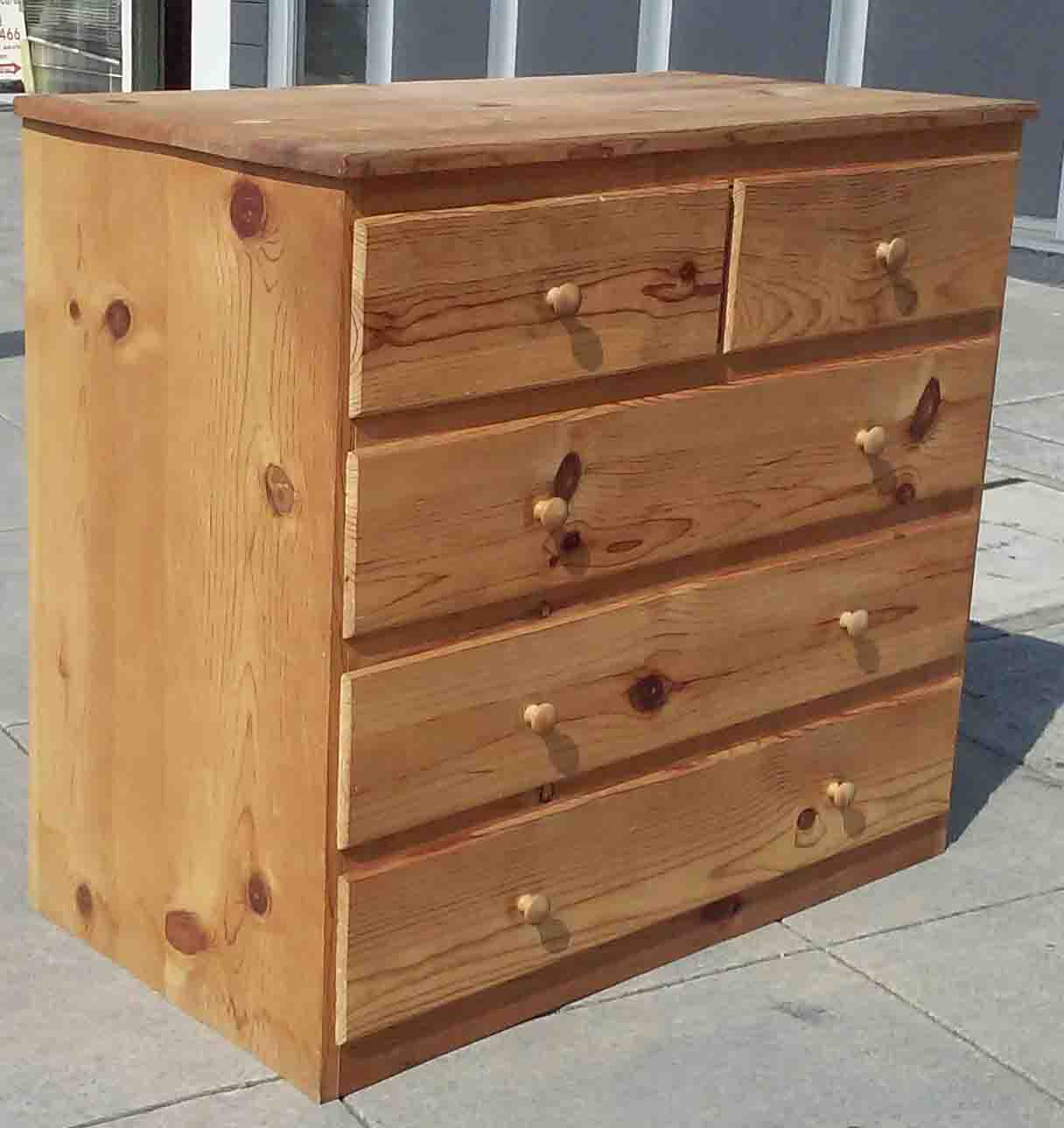uhuru furniture collectibles sold knotty pine chest of